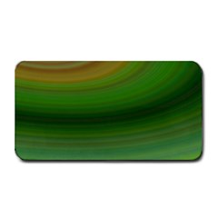 Green Background Elliptical Medium Bar Mats