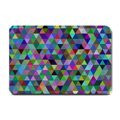 Triangle Tile Mosaic Pattern Small Doormat