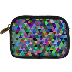 Triangle Tile Mosaic Pattern Digital Camera Cases