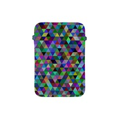 Triangle Tile Mosaic Pattern Apple Ipad Mini Protective Soft Cases by Nexatart
