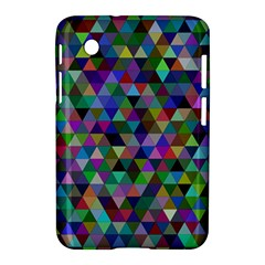 Triangle Tile Mosaic Pattern Samsung Galaxy Tab 2 (7 ) P3100 Hardshell Case