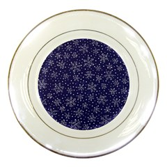 Pattern Circle Multi Color Porcelain Plates by Nexatart