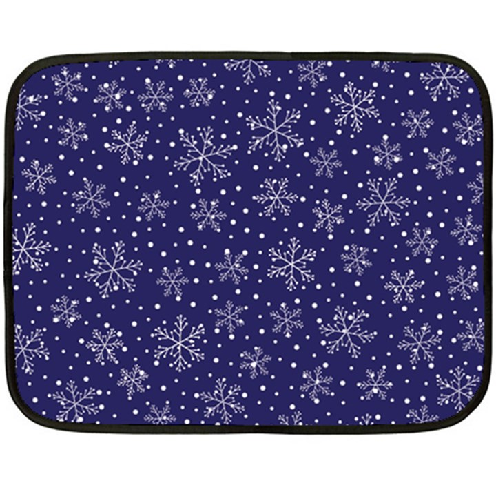 Pattern Circle Multi Color Double Sided Fleece Blanket (Mini)