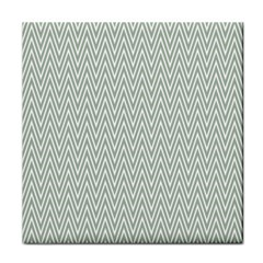 Vintage Pattern Chevron Tile Coasters