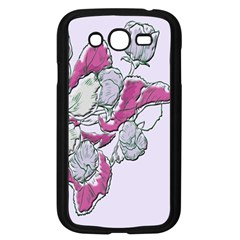 Bouquet Flowers Plant Purple Samsung Galaxy Grand Duos I9082 Case (black)