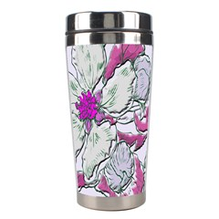 Bouquet Flowers Plant Purple Stainless Steel Travel Tumblers by Nexatart