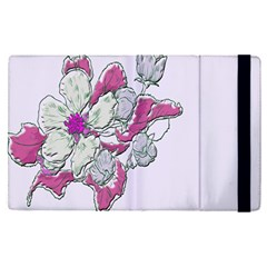 Bouquet Flowers Plant Purple Apple Ipad Pro 9 7   Flip Case by Nexatart