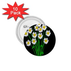 Bouquet Geese Flower Plant Blossom 1 75  Buttons (10 Pack) by Nexatart