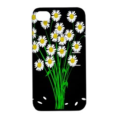 Bouquet Geese Flower Plant Blossom Apple Iphone 4/4s Hardshell Case With Stand