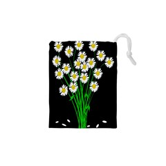 Bouquet Geese Flower Plant Blossom Drawstring Pouches (xs)