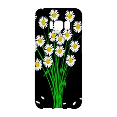 Bouquet Geese Flower Plant Blossom Samsung Galaxy S8 Hardshell Case  by Nexatart