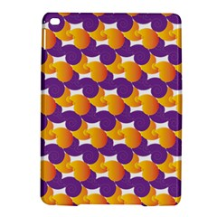 Pattern Background Purple Yellow Ipad Air 2 Hardshell Cases