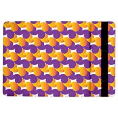 Pattern Background Purple Yellow Ipad Air 2 Flip