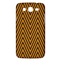 Chevron Brown Retro Vintage Samsung Galaxy Mega 5 8 I9152 Hardshell Case  by Nexatart