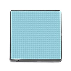Blue Pattern Background Texture Memory Card Reader (square)