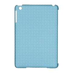 Blue Pattern Background Texture Apple Ipad Mini Hardshell Case (compatible With Smart Cover) by Nexatart