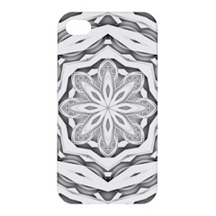 Mandala Pattern Floral Apple Iphone 4/4s Premium Hardshell Case by Nexatart