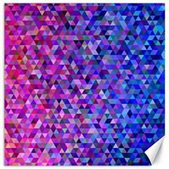 Triangle Tile Mosaic Pattern Canvas 12  X 12