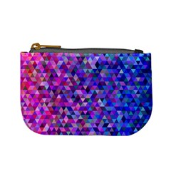 Triangle Tile Mosaic Pattern Mini Coin Purses by Nexatart