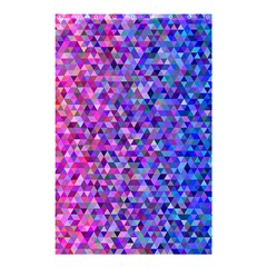 Triangle Tile Mosaic Pattern Shower Curtain 48  X 72  (small)