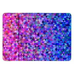 Triangle Tile Mosaic Pattern Samsung Galaxy Tab 8 9  P7300 Flip Case by Nexatart
