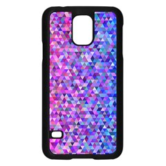 Triangle Tile Mosaic Pattern Samsung Galaxy S5 Case (black)