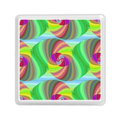Seamless Pattern Twirl Spiral Memory Card Reader (square)  by Nexatart