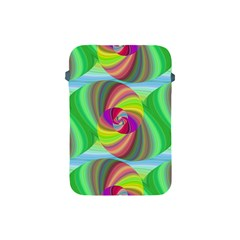 Seamless Pattern Twirl Spiral Apple Ipad Mini Protective Soft Cases by Nexatart