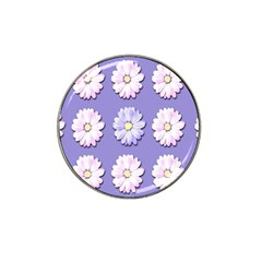 Daisy Flowers Wild Flowers Bloom Hat Clip Ball Marker (4 Pack) by Nexatart