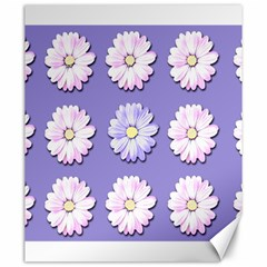 Daisy Flowers Wild Flowers Bloom Canvas 20  X 24