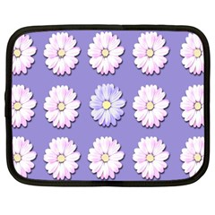 Daisy Flowers Wild Flowers Bloom Netbook Case (xxl)