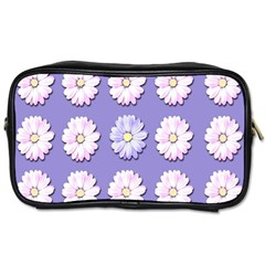 Daisy Flowers Wild Flowers Bloom Toiletries Bags by Nexatart