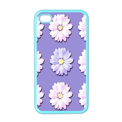 Daisy Flowers Wild Flowers Bloom Apple Iphone 4 Case (color)