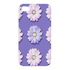 Daisy Flowers Wild Flowers Bloom Apple Iphone 4/4s Premium Hardshell Case