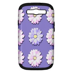 Daisy Flowers Wild Flowers Bloom Samsung Galaxy S Iii Hardshell Case (pc+silicone)