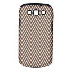 Chevron Retro Pattern Vintage Samsung Galaxy S Iii Classic Hardshell Case (pc+silicone)