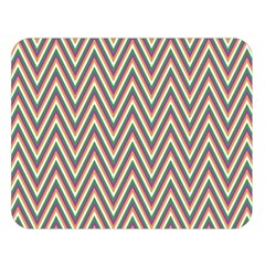 Chevron Retro Pattern Vintage Double Sided Flano Blanket (large)  by Nexatart