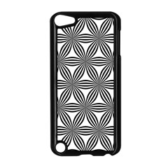 Seamless Pattern Repeat Line Apple Ipod Touch 5 Case (black) by Nexatart