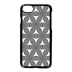 Seamless Pattern Repeat Line Apple Iphone 7 Seamless Case (black)
