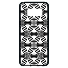 Seamless Pattern Repeat Line Samsung Galaxy S8 Black Seamless Case