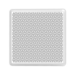 Seamless Pattern Monochrome Repeat Memory Card Reader (square)  by Nexatart