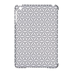 Seamless Pattern Monochrome Repeat Apple Ipad Mini Hardshell Case (compatible With Smart Cover) by Nexatart