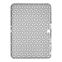Seamless Pattern Monochrome Repeat Samsung Galaxy Tab 4 (10 1 ) Hardshell Case