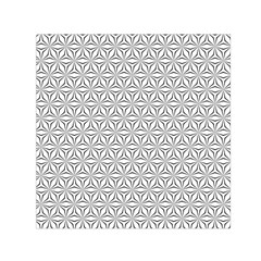 Seamless Pattern Monochrome Repeat Small Satin Scarf (square) by Nexatart