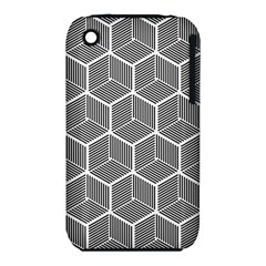 Cube Pattern Cube Seamless Repeat Iphone 3s/3gs by Nexatart