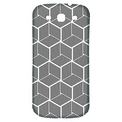 Cube Pattern Cube Seamless Repeat Samsung Galaxy S3 S Iii Classic Hardshell Back Case