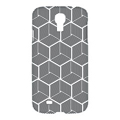 Cube Pattern Cube Seamless Repeat Samsung Galaxy S4 I9500/i9505 Hardshell Case by Nexatart
