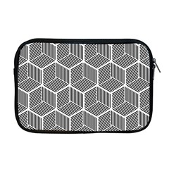 Cube Pattern Cube Seamless Repeat Apple Macbook Pro 17  Zipper Case by Nexatart