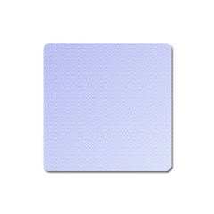 Zigzag Chevron Thin Pattern Square Magnet