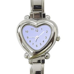 Zigzag Chevron Thin Pattern Heart Italian Charm Watch by Nexatart